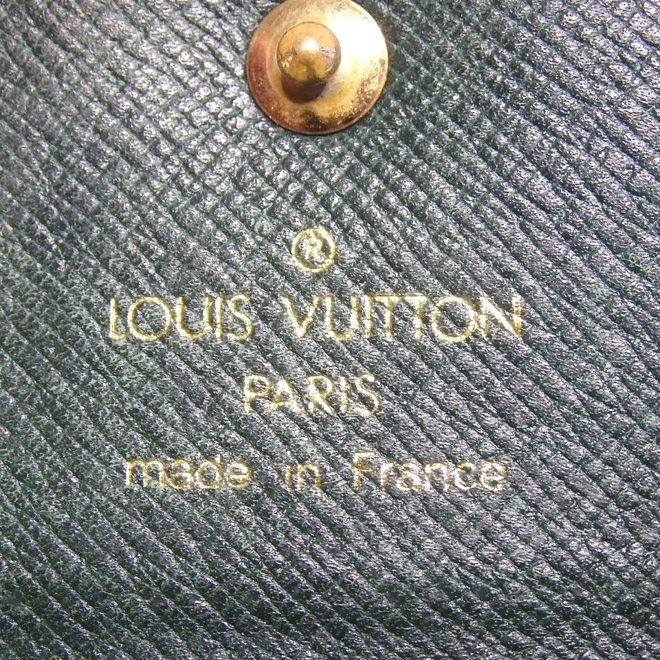 557617df5634 Louis Vuitton Taiga Leather Multicles 4 Key Holder Case Spain Image 8.  123456789