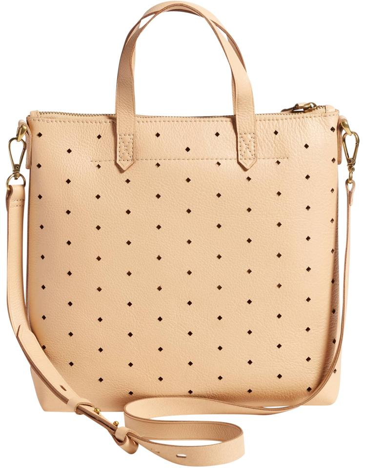 57c7fb5296a1 Madewell Mini Transport Perforated Leather Cross Body Bag 45% off retail