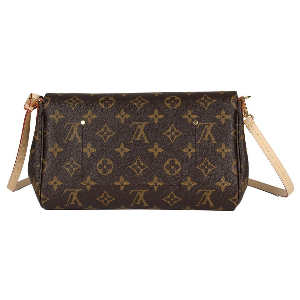 55b5db6dcce0 Louis Vuitton Favorite New Sold Out Mm Monogram 7094 Brown Canvas ...