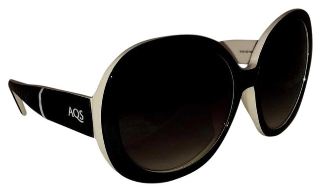 Item - Black White Kinsley Sunglasses