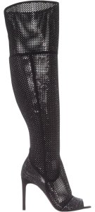 Vince Camuto Black/Silver Boots