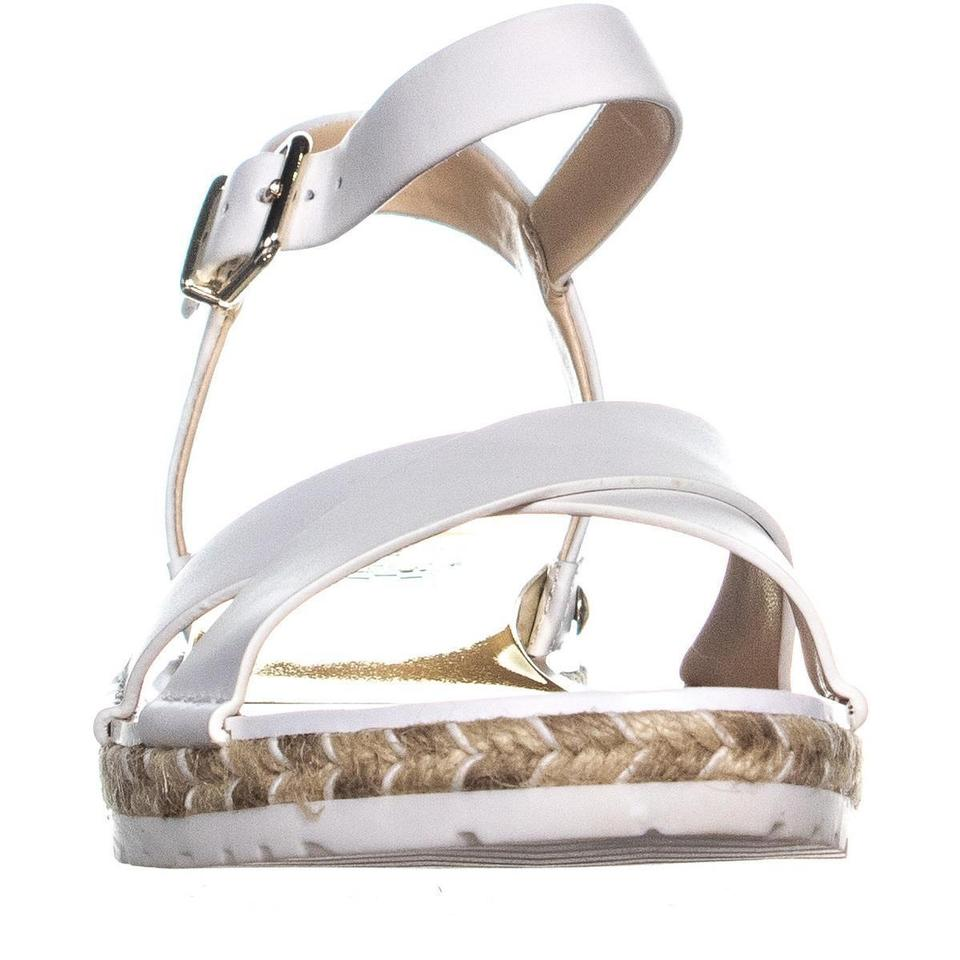 8515c7ec2ad Vince Camuto White Kankitta Sport Ankle Strap Pure Combo   4 Sandals ...