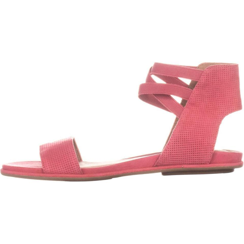 9130dc91855f Kenneth Cole Pink Gentle Souls By Lark-may Flat Coral   38 Sandals ...