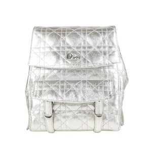 Dior Leather Stradust Quilted Backpack