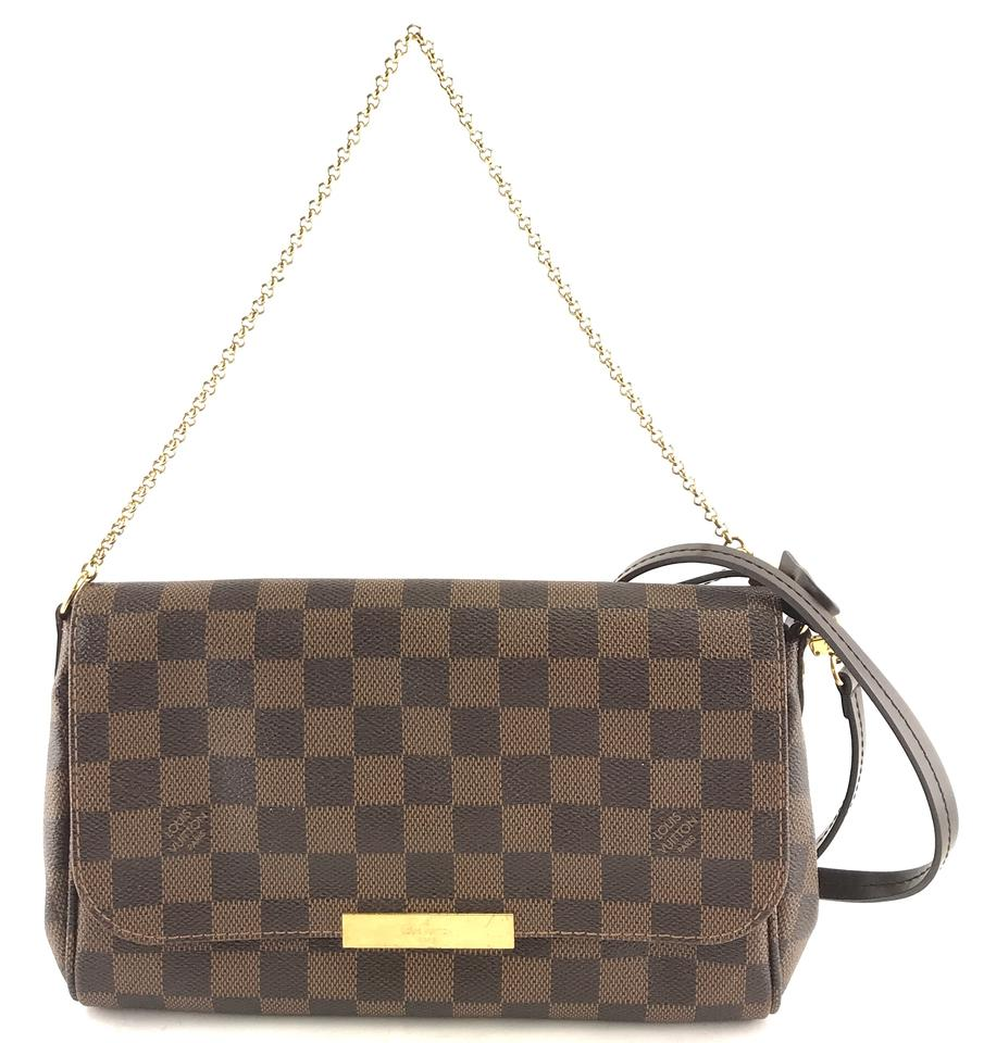 7671e0f1cb7a Louis Vuitton  27460 with Strap Favourite Mm Clutch Two Way Rare ...