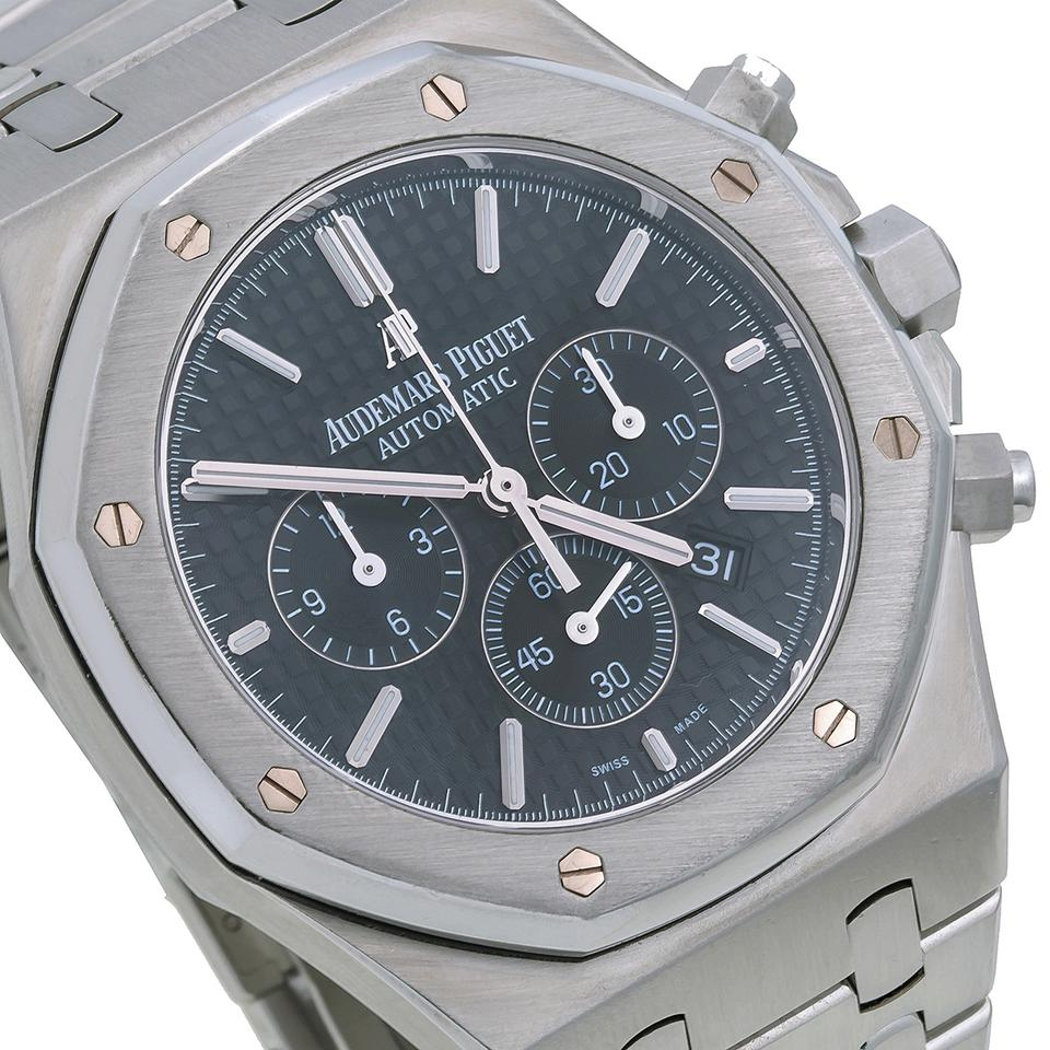 b974596141017 Audemars Piguet Audemars Piguet Royal Oak Chronograph 26320ST 41mm Black  Dial Image 3. 1234