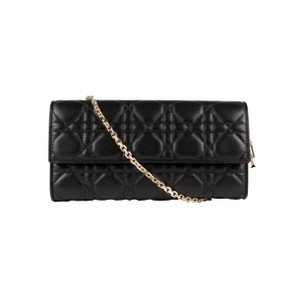 Dior Lady-d Cannage Leather Shoulder Bag