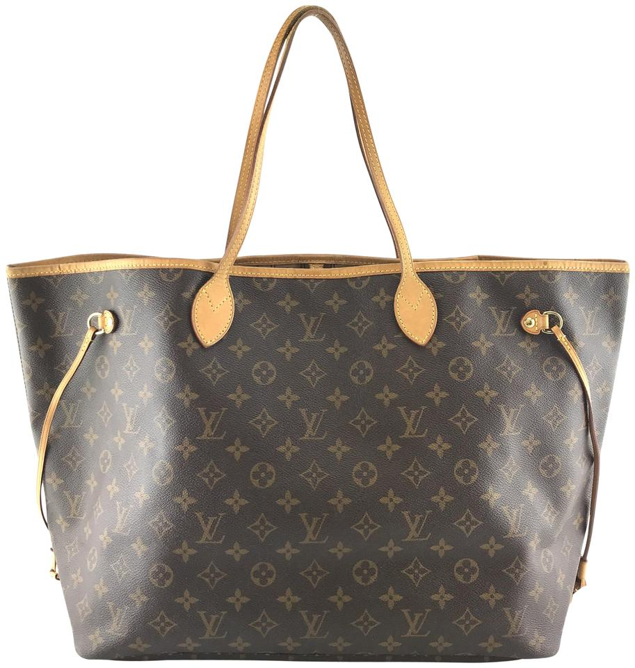 7a7624a9ea035 Louis Vuitton Neverfull #27390 Classic Large Gm Tote Work Monogram ...