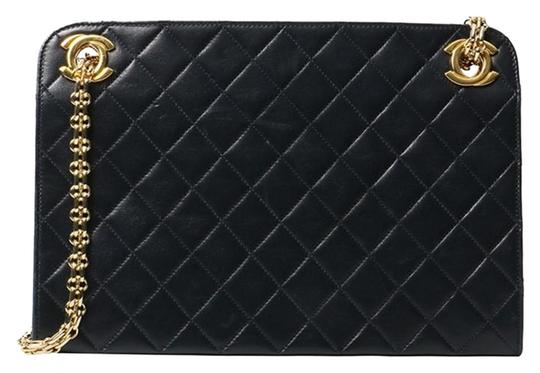 Preload https://img-static.tradesy.com/item/24912990/chanel-timeless-shopping-tote-vintage-quilted-shoulder-black-lambskin-leather-tote-0-1-540-540.jpg