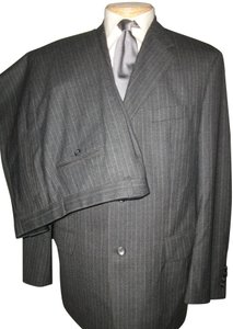 3b482634fe6d Fendi 100% Wool Pinstripe 3 Button Suit Sz 46R