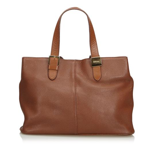 Preload https://img-static.tradesy.com/item/24913144/burberry-handbag-brown-leather-x-others-baguette-0-0-540-540.jpg