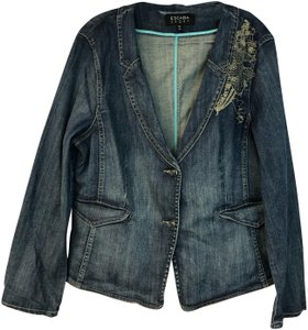 Escada Womens Jean Jacket