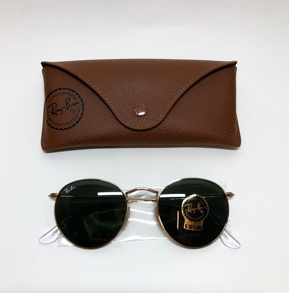 74b962a63f Ray-Ban Extra Large Round John Lennon rb3447 001 FREE 3 DAY SHIPPING Round  Image. 123456789101112