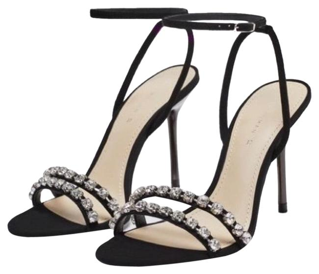 Item - Black | Jeweled Heels Formal Shoes Size EU 38 (Approx. US 8) Narrow (Aa, N)