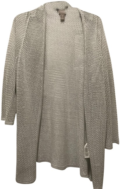 Item - Silver Shimming Poncho/Cape Size 14 (L)