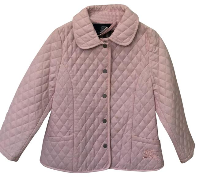 Item - Light Pink Diamond Quilted Girls Jacket Size 00 (XXS)