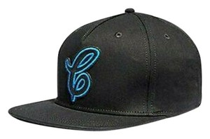 Coach BRAND NEW MEN'S COACH (F38892) NEON BLACK FLAT BRIM ADJUSTABLE BASEBAL