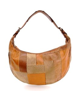 Dior Suede Leather Patchwork Italy Hobo Bag