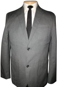 Perry Ellis New Men's Mordern Fit Gray Blazer