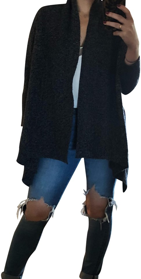 Joie Wool Shrug Blue Sweater - Tradesy dbcdff1d7