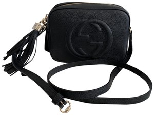 2761ccc62c54 Added to Shopping Bag. Gucci Cross Body Bag. Gucci Soho Disco 2019 Black  Leather ...