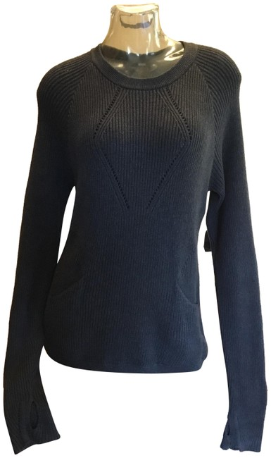 Item - Dark Gray The Sweater The Better Activewear Top Size 8 (M)