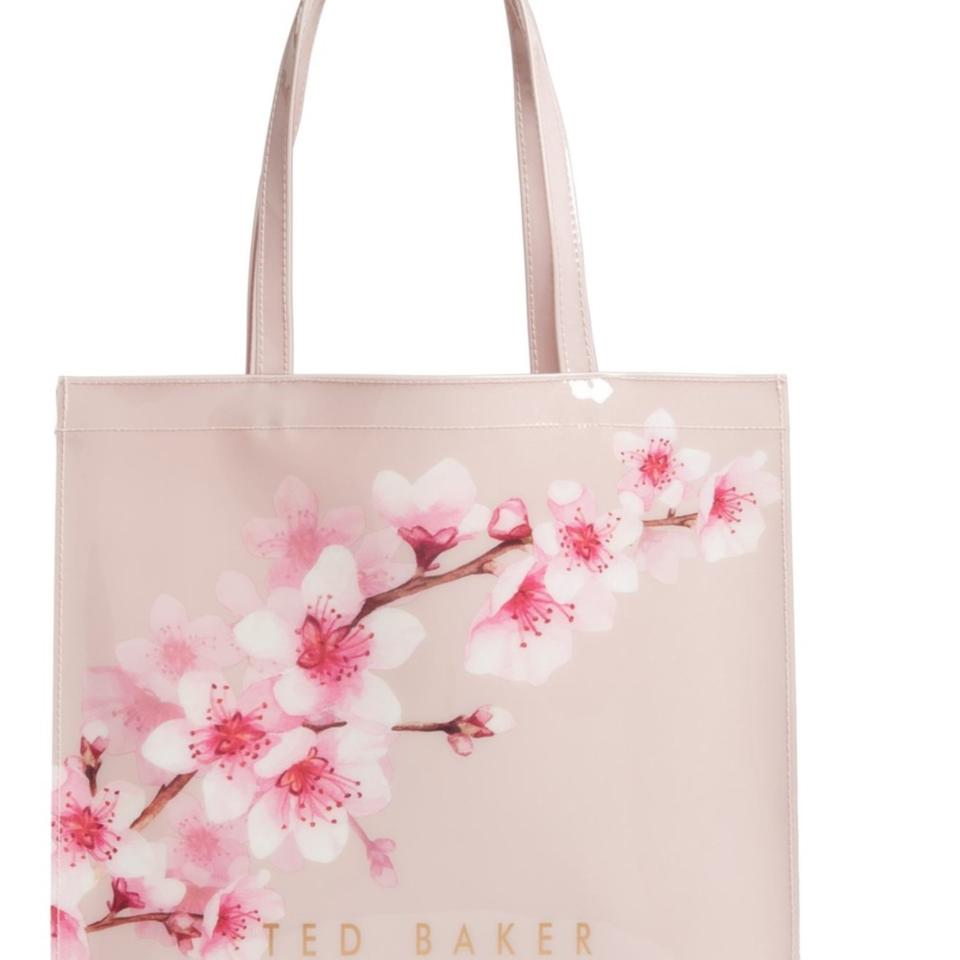 ab518d61d4c Ted Baker Pammcon Soft Blossom Large Icon Light Pink Pvc Tote - Tradesy