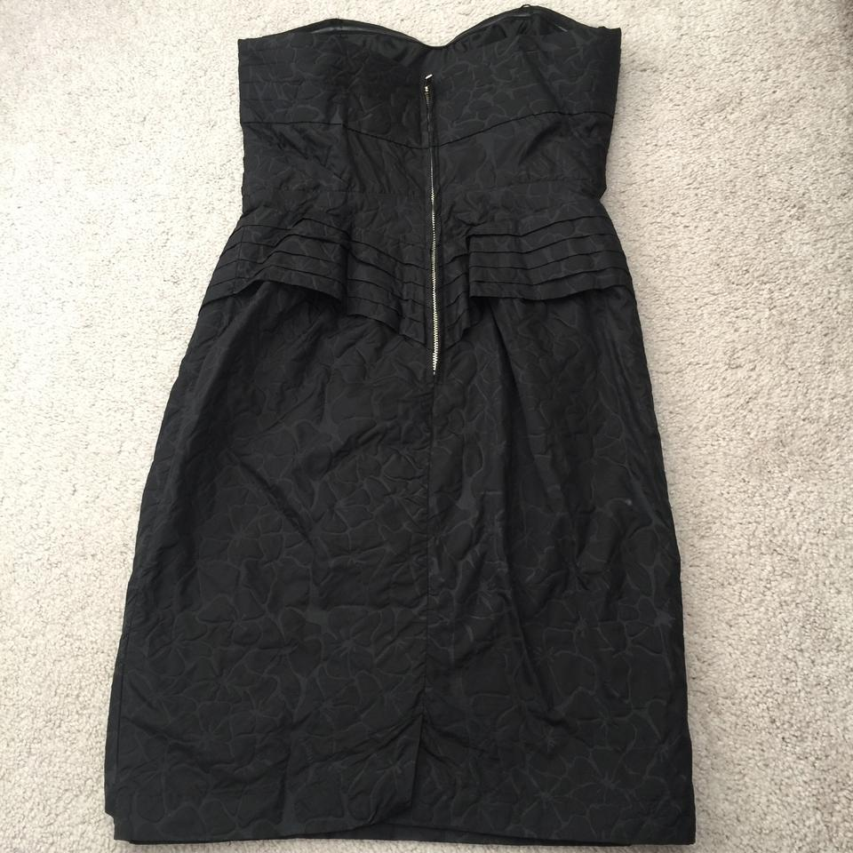 50e43c2200 Jean-Paul Gaultier for Target Black Strapless Mini Short Cocktail Dress  Size 4 (S) - Tradesy