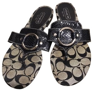 c2dabc8d0355 Grey Coach Sandals - Up to 90% off at Tradesy