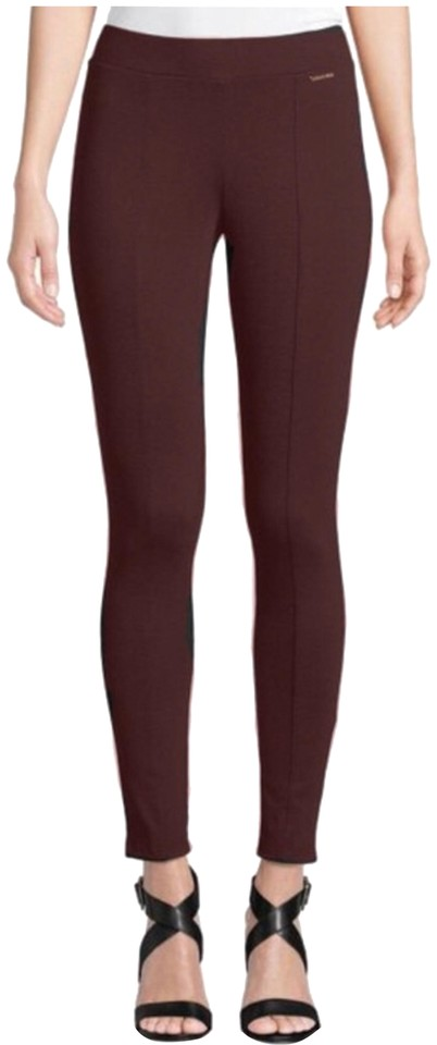 210bc780f23683 MICHAEL Michael Kors Chocolate Brown Pull On Leggings Pants. Size: 2 ...