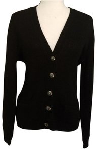 Lauren Ralph Lauren Lrl V-neck Ribbed Pockets Cardigan