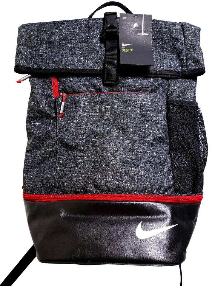 9c112395a6d5 Nike Sport Iii Unisex Golf Black Heather Gym Red- Black Gray Red ...
