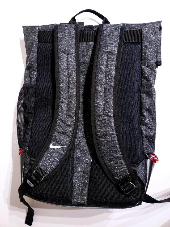 Nike Sport Iii Unisex Golf Black Heather Gym Red- Black Gray Red Polyester  Backpack 987c302c25c18