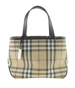 564eb6f46 Added to Shopping Bag. Burberry Canvas Tote in Beige. Burberry Vintage Mini  Nova Check ...