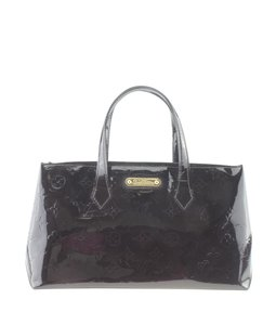 Louis Vuitton Patent Leather Tote in Purple