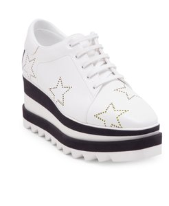 Stella McCartney Sneaker Elyse White Platforms