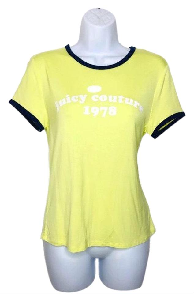 e29a1d37 Juicy Couture Sunny Lime Tee Shirt Size 4 (S) - Tradesy