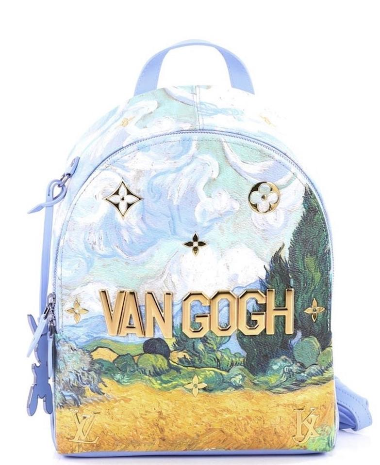 e626a512dd73 Louis Vuitton Palm Springs Masters Collection Van Gogh Limited Edition  Backpack Image 0 ...
