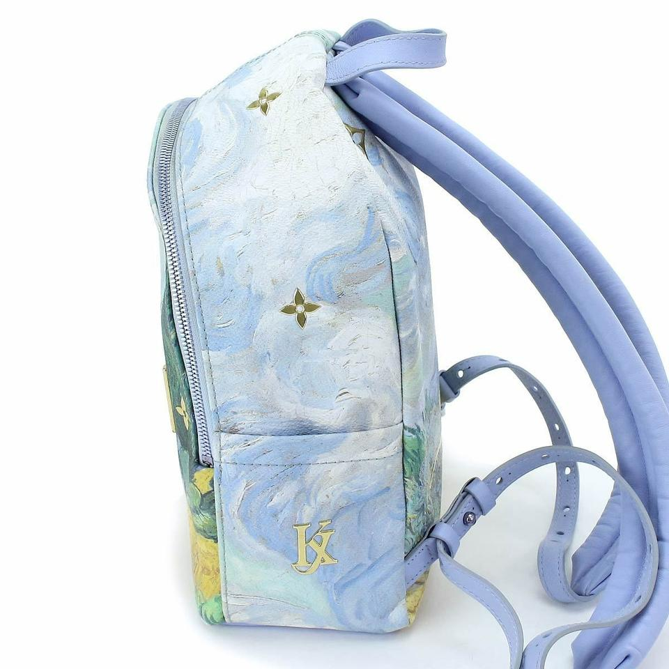 f48287ae111a Louis Vuitton Palm Springs Masters Collection Van Gogh Limited Edition  Backpack Image 8. 123456789
