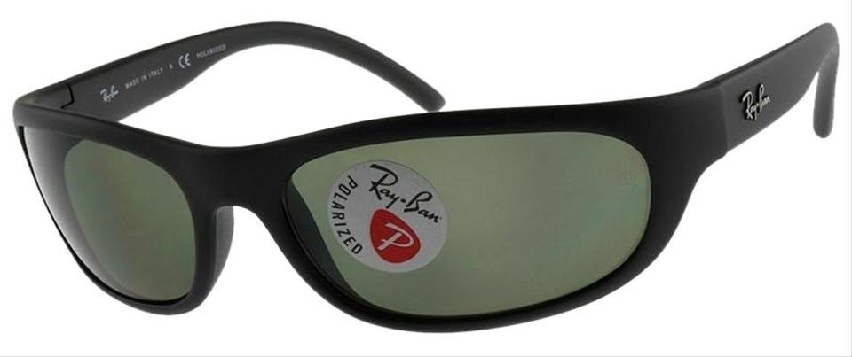 0f757db4ab44 Ray-Ban Matte Black Frame   Green Classic G-15 Polarized Lens Rb4033 601s48  Predator Style Unisex Sunglasses
