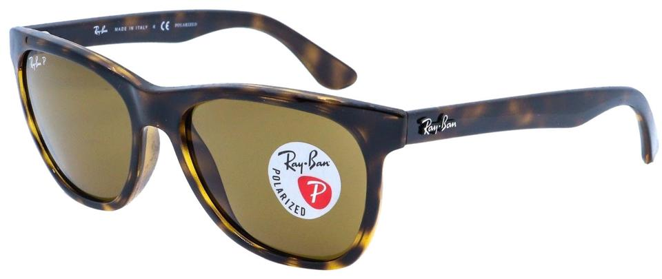 e5138456be Ray-Ban Havana Tortoise Frame   Brown Classic Polarized Lens Rb4184 710 83  Square Style Unisex Sunglasses