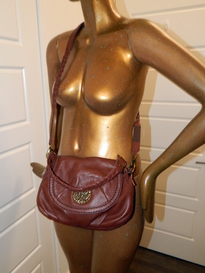 Lucky Brand Leather Cross Body Bag Image 1