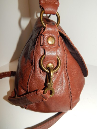 Lucky Brand Leather Cross Body Bag Image 4