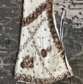 Lotta Stensson Maxi Skirt White and Gold Sequins Image 1