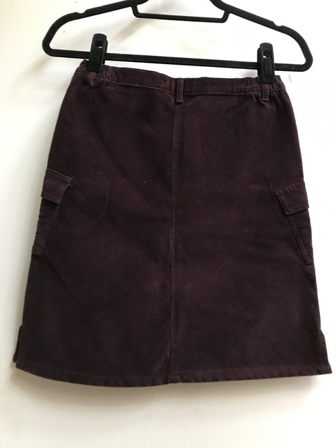 Galeries Lafayette Skirt Wine red Image 1