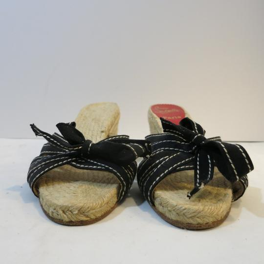 Christian Louboutin Wedge Espadrille Espadrille black Sandals Image 2