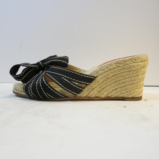 Christian Louboutin Wedge Espadrille Espadrille black Sandals Image 4