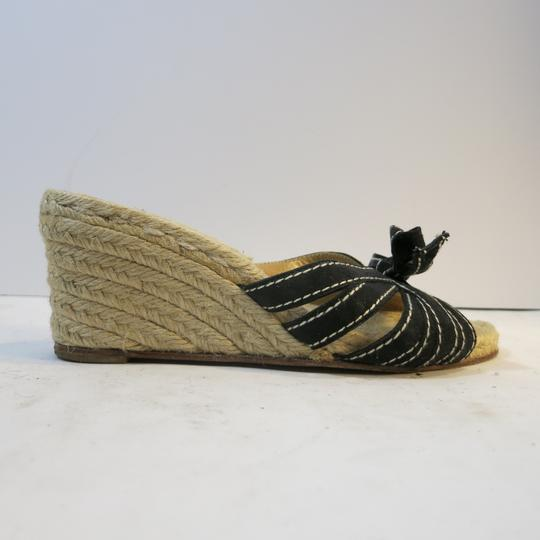 Christian Louboutin Wedge Espadrille Espadrille black Sandals Image 5