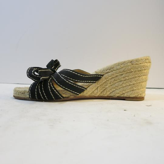 Christian Louboutin Wedge Espadrille Espadrille black Sandals Image 6