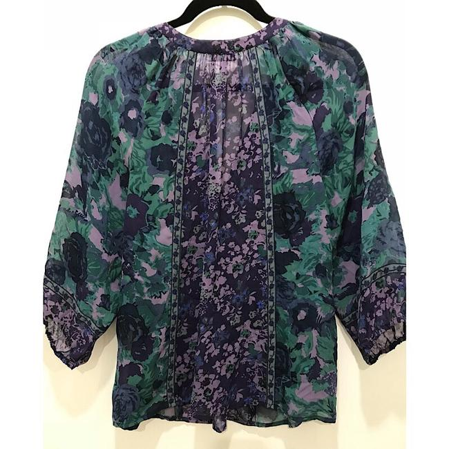 Joie Top Purple and green Image 5